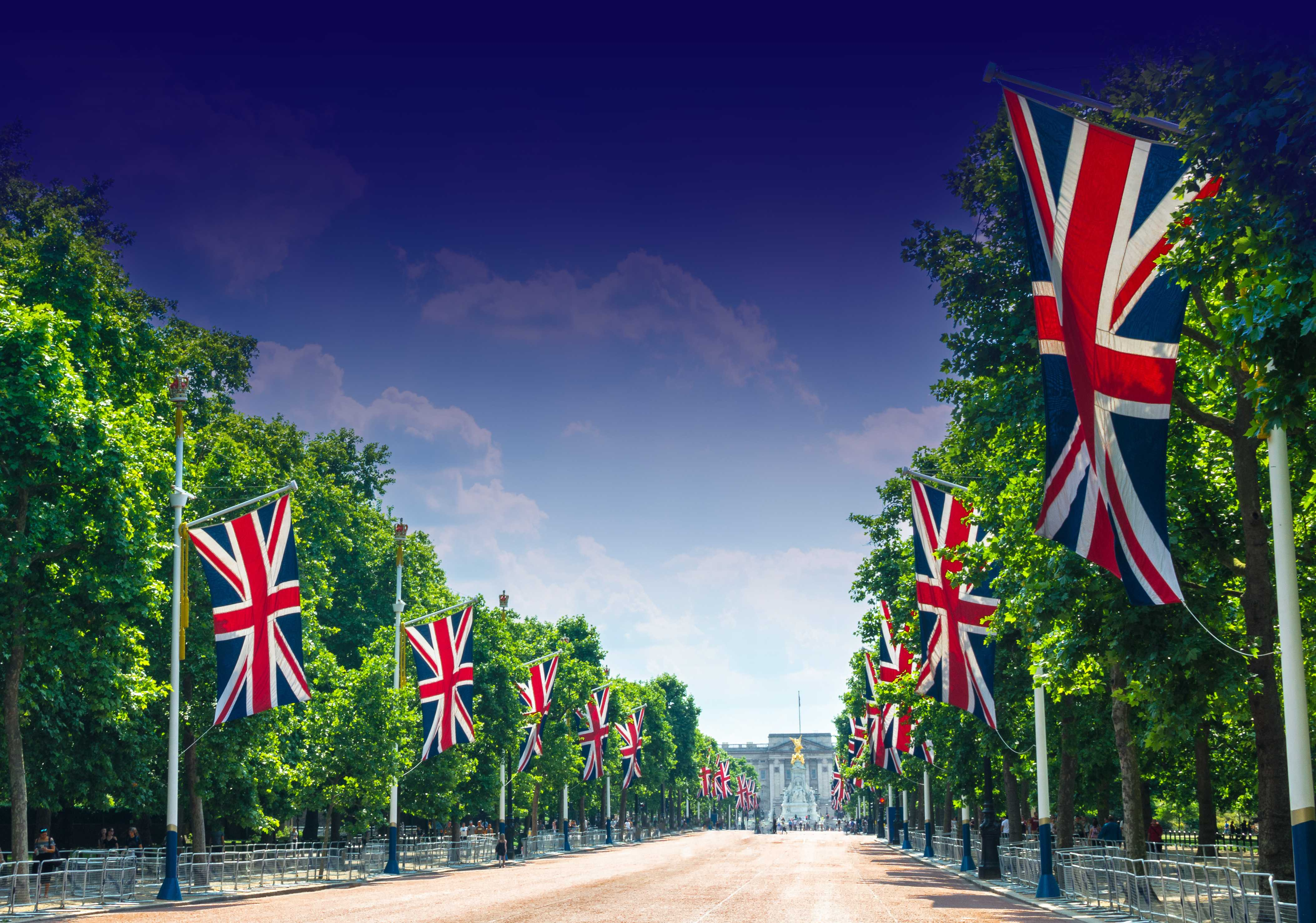 Pall Mall British Flags